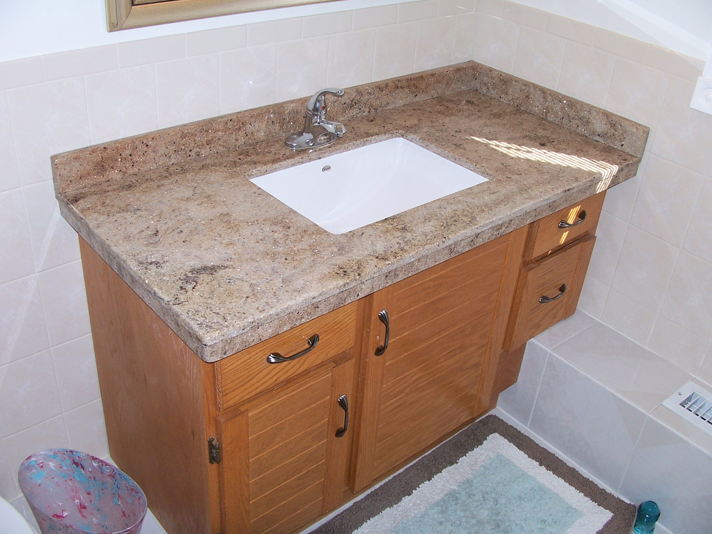 bathroom Countertop After