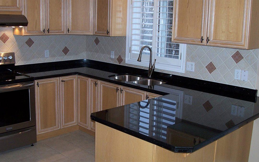 Sleek Kitchen Counter