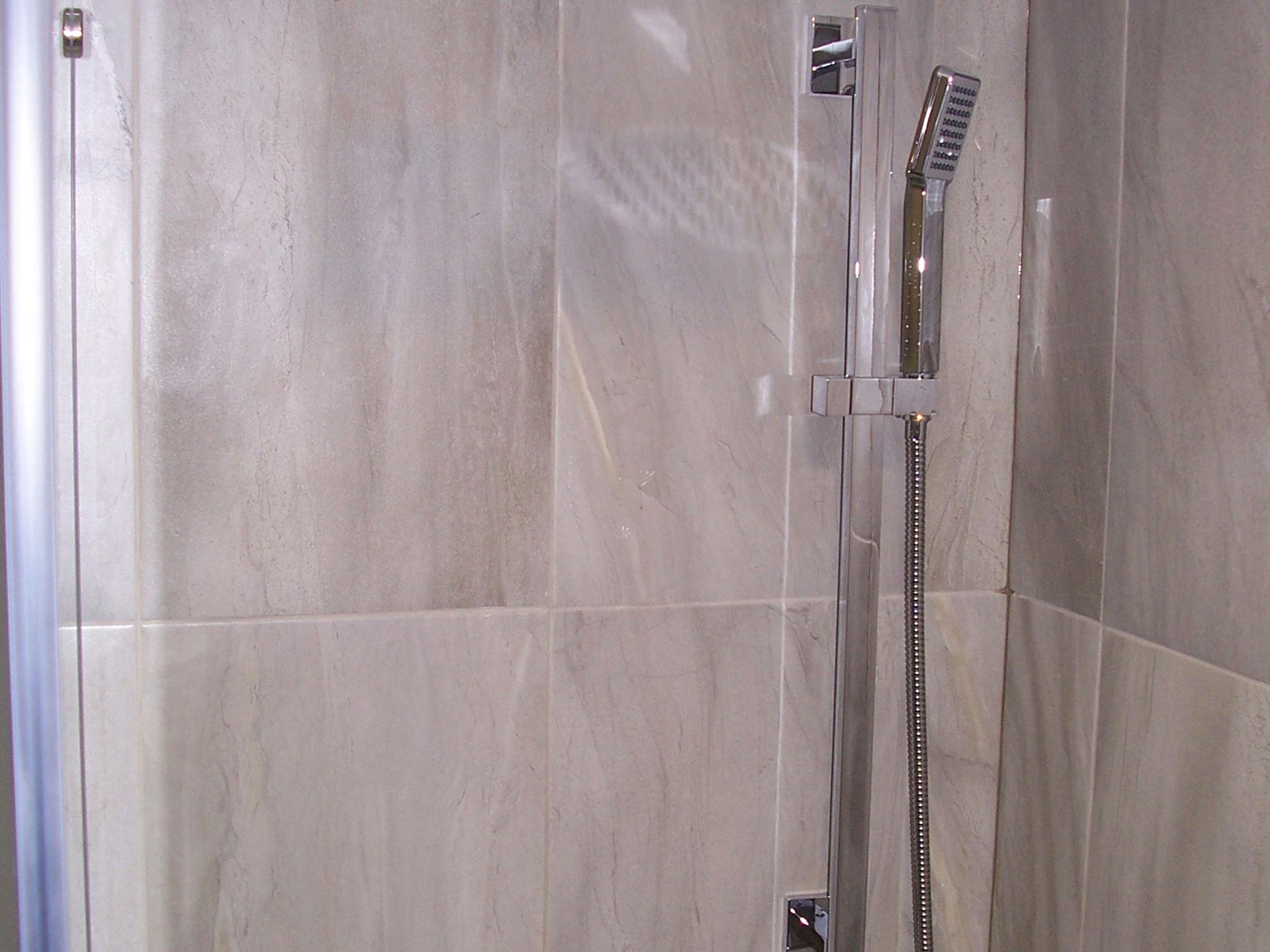 Bathroom Shower Head After