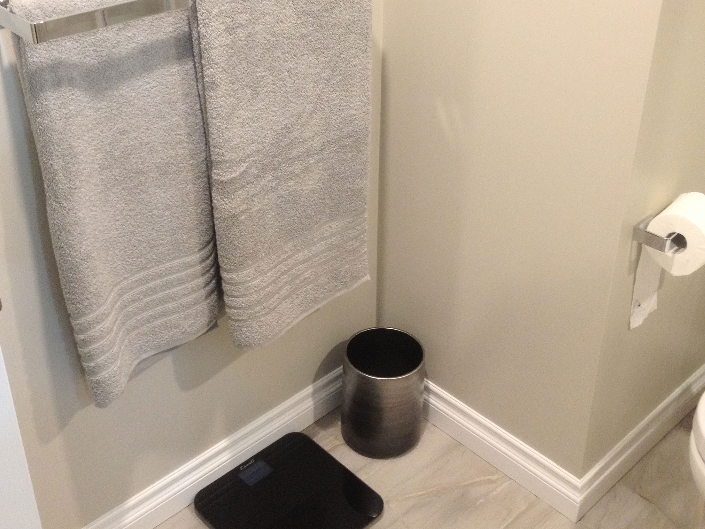 Bathroom Walls and Tile After