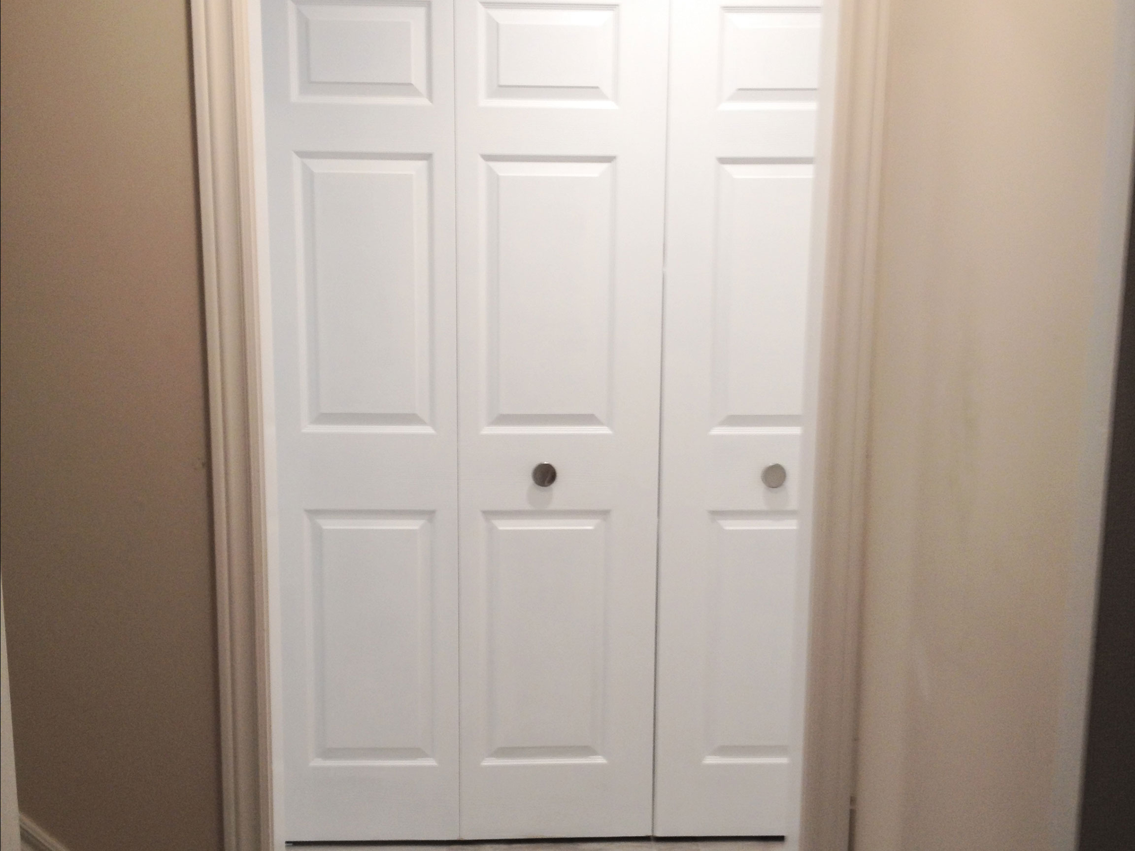 Laundry Folding Doors