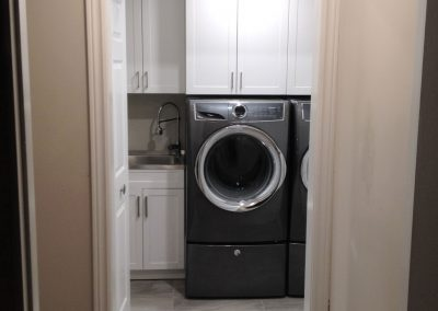 Basement Bathroom & Laundry Room