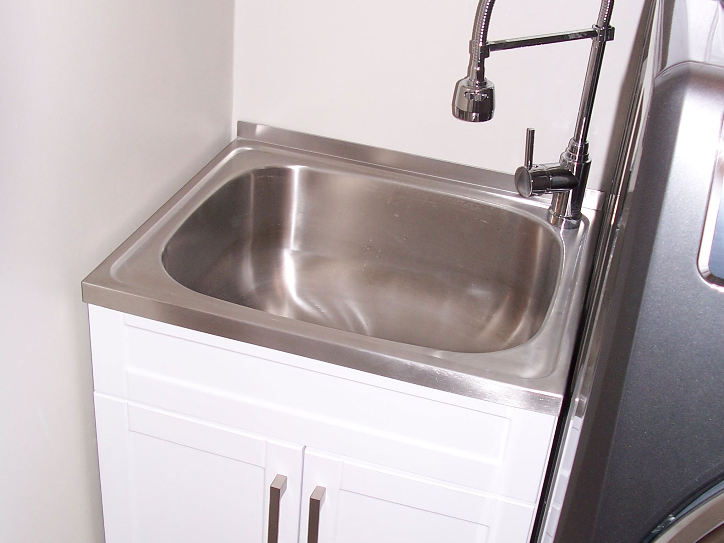 Laundry New Utility Sink