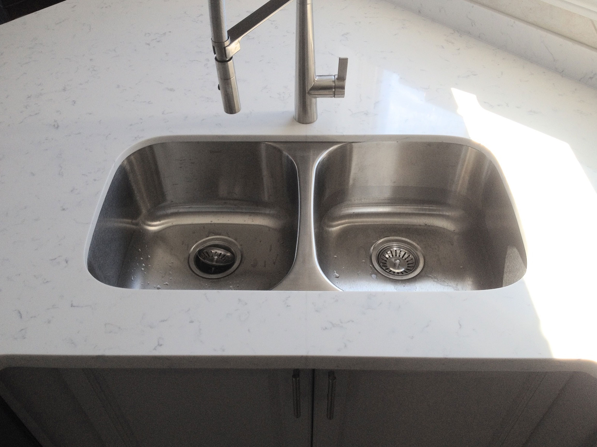 Under Mount Sink After