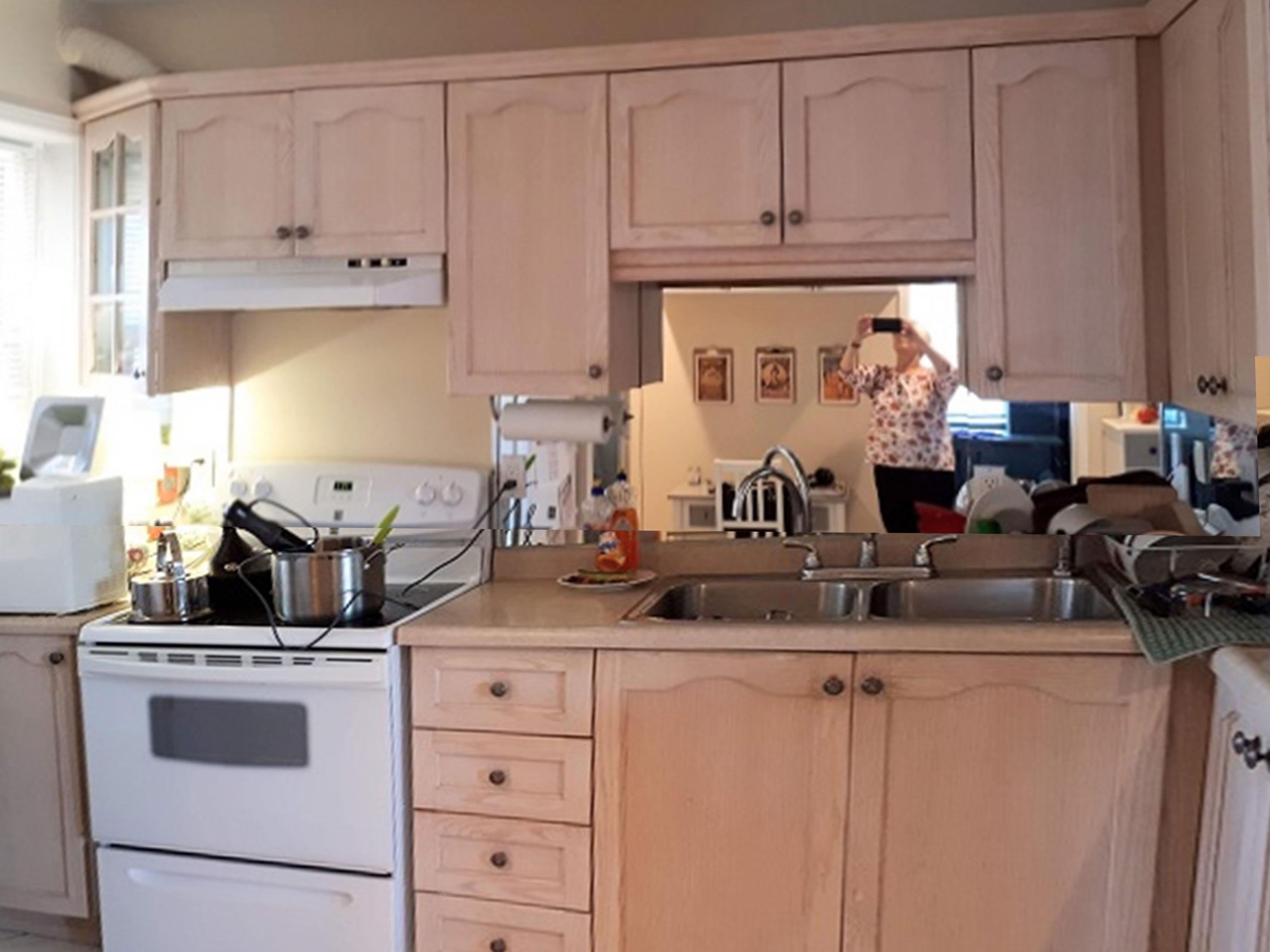 Vineland Street Kitchen Before 1