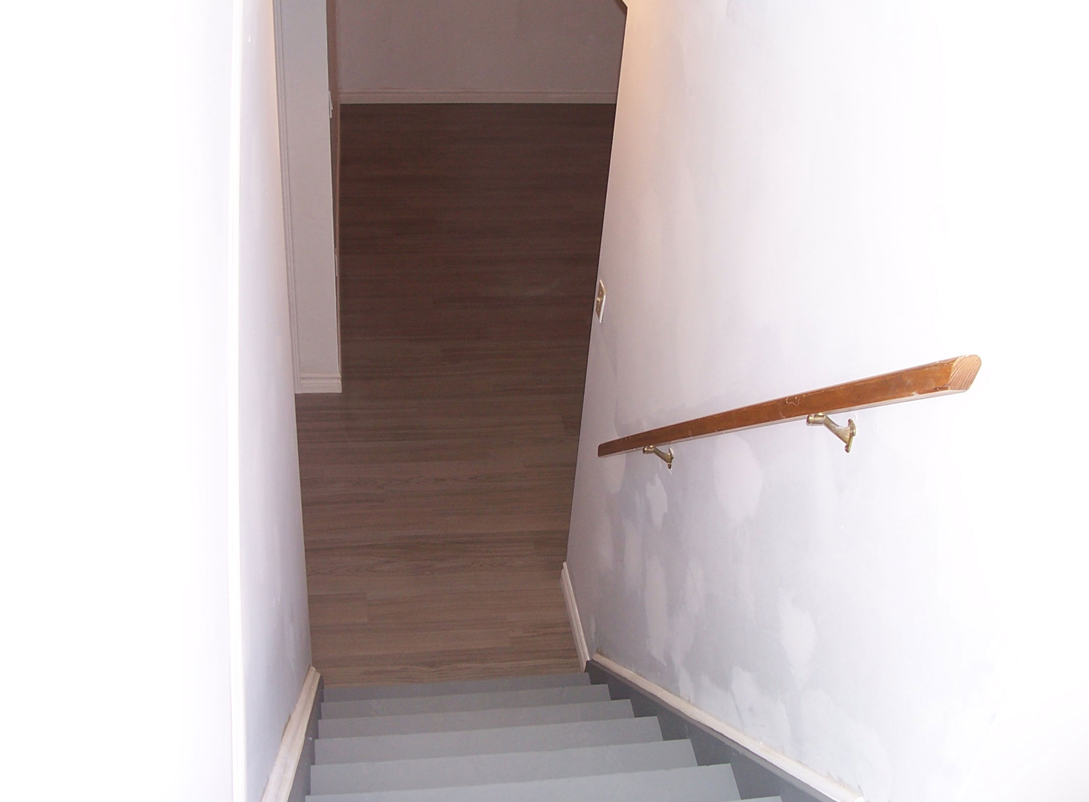Basement Stairs After