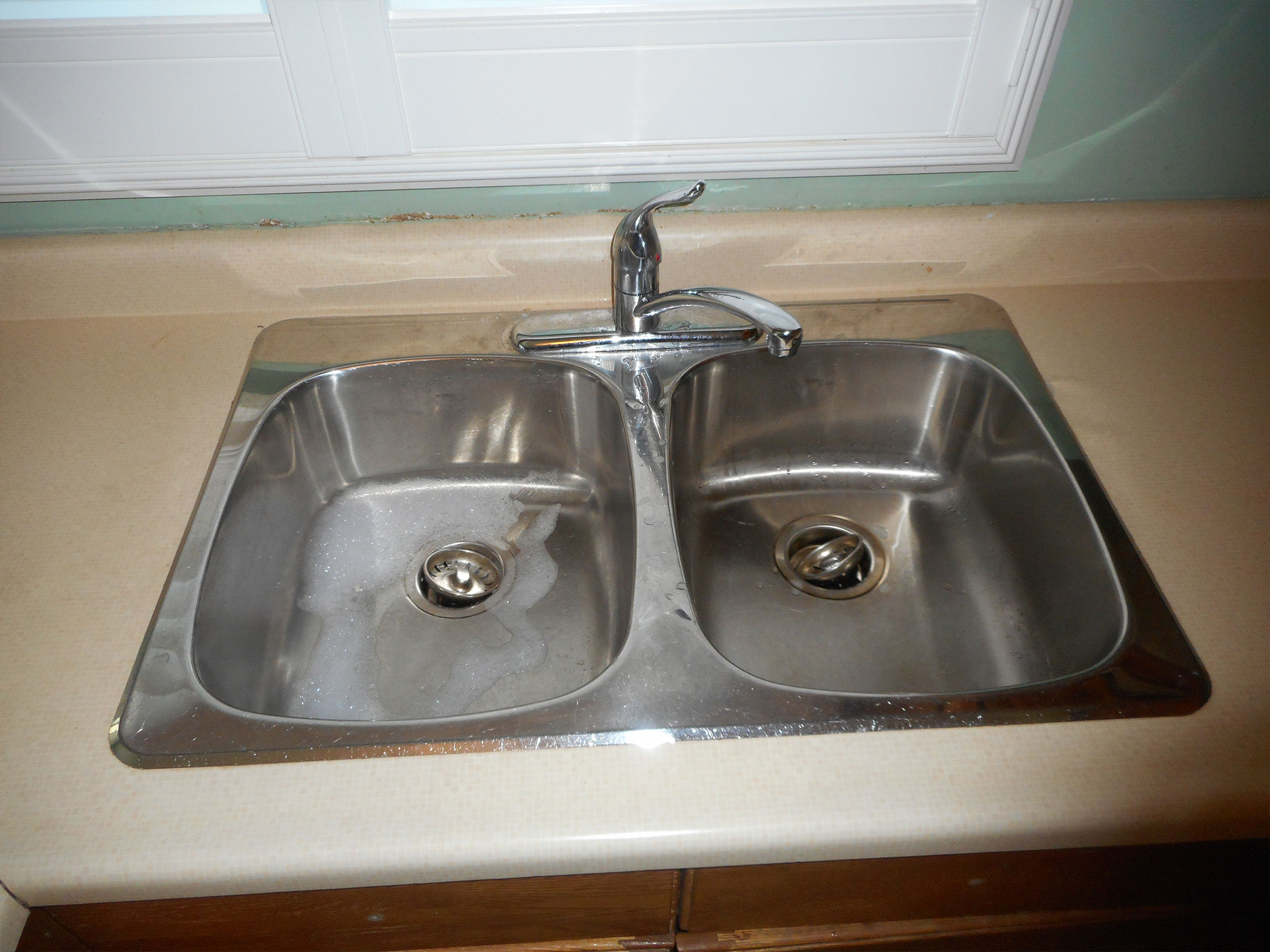 Kitchen Sink Before
