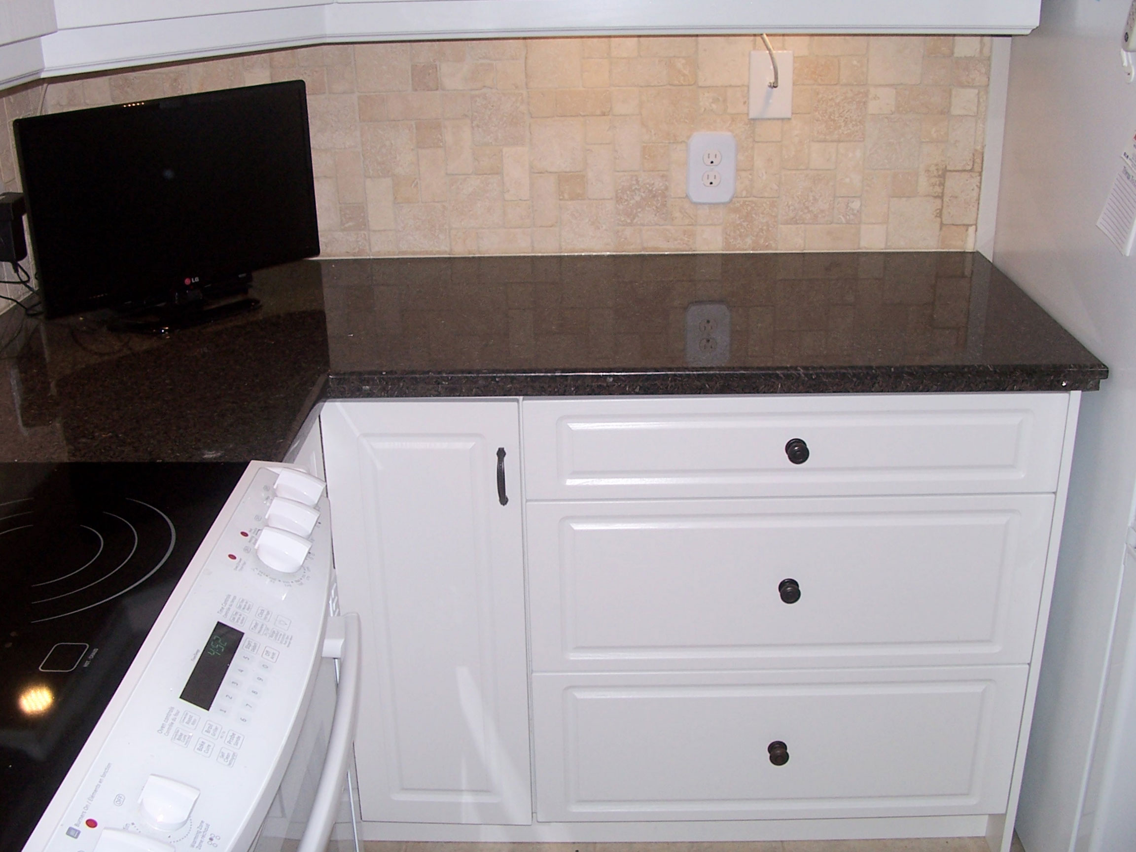 Refacing Counters After