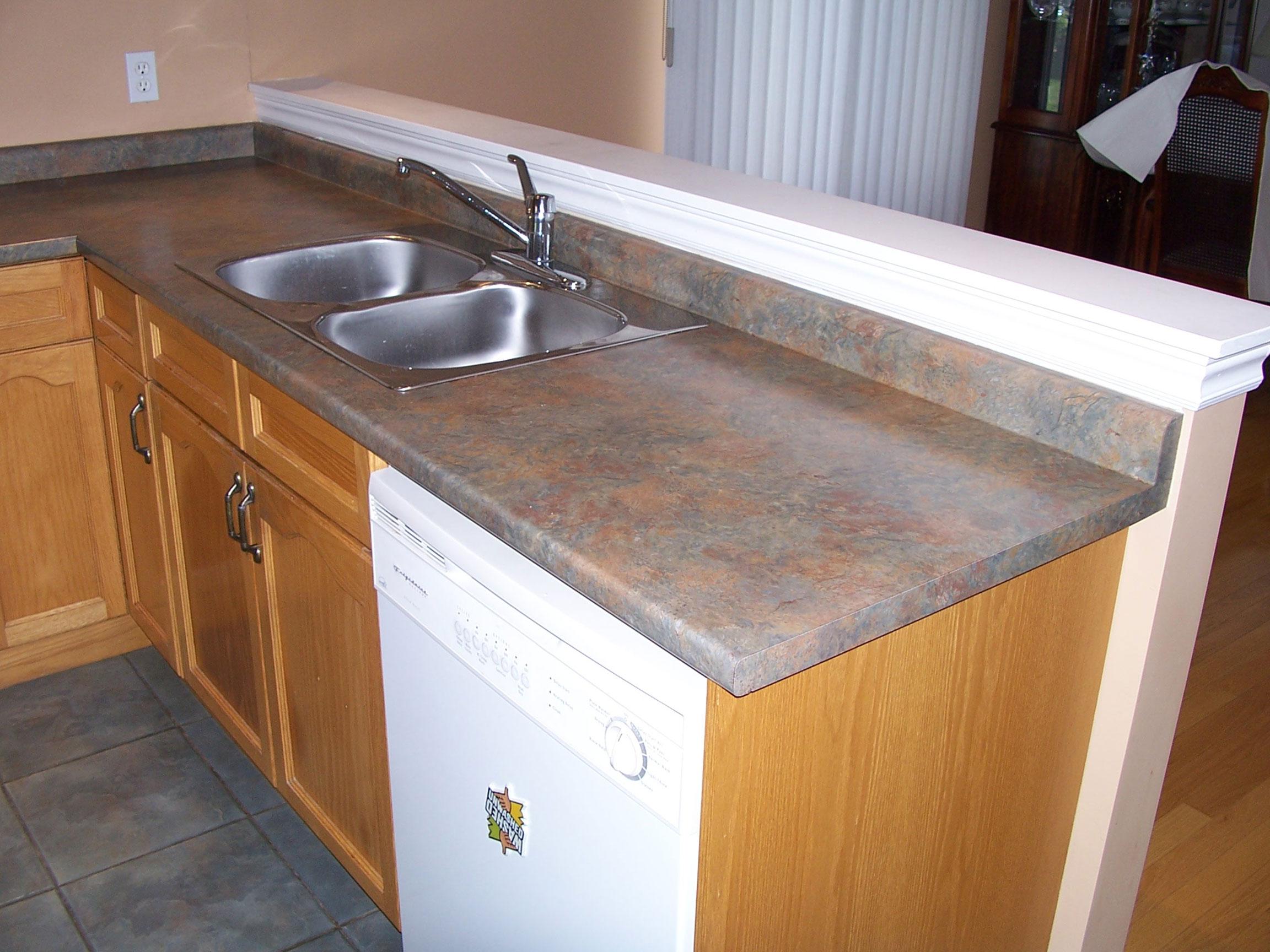 Kitchen Sink View Before