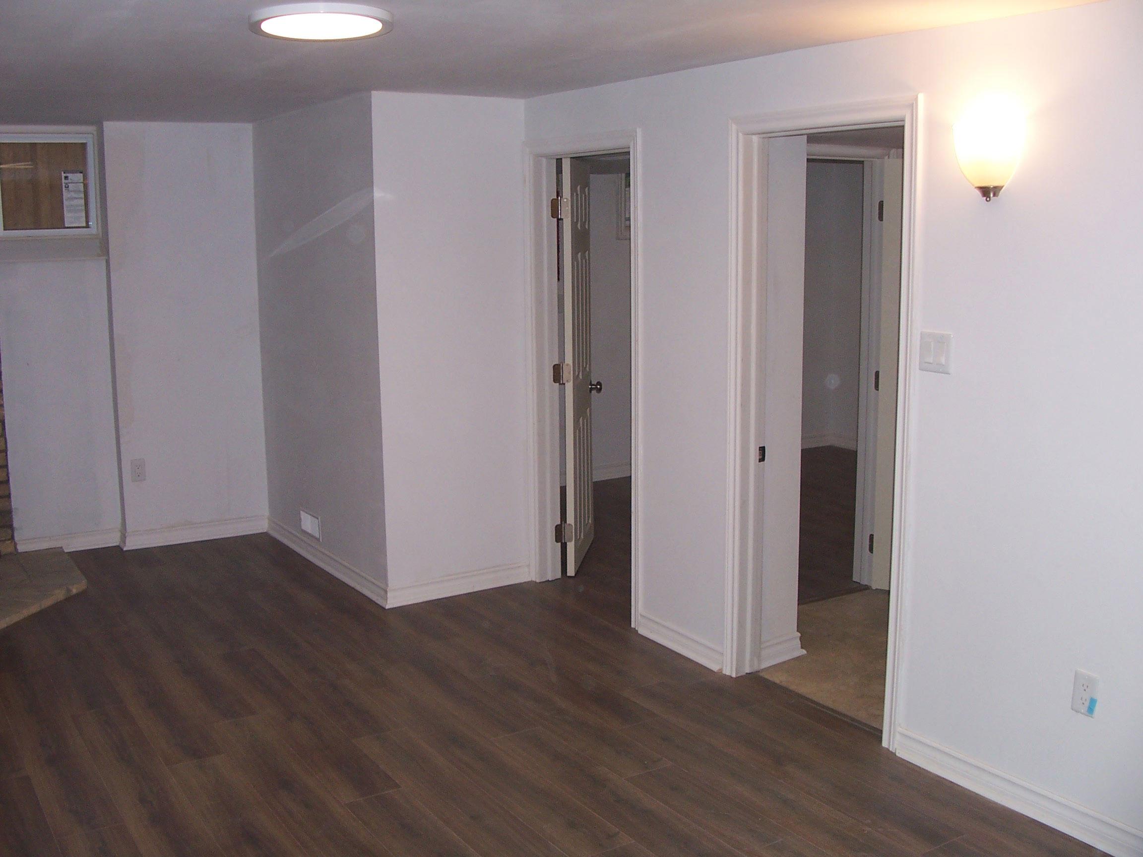 Basement Main Room After
