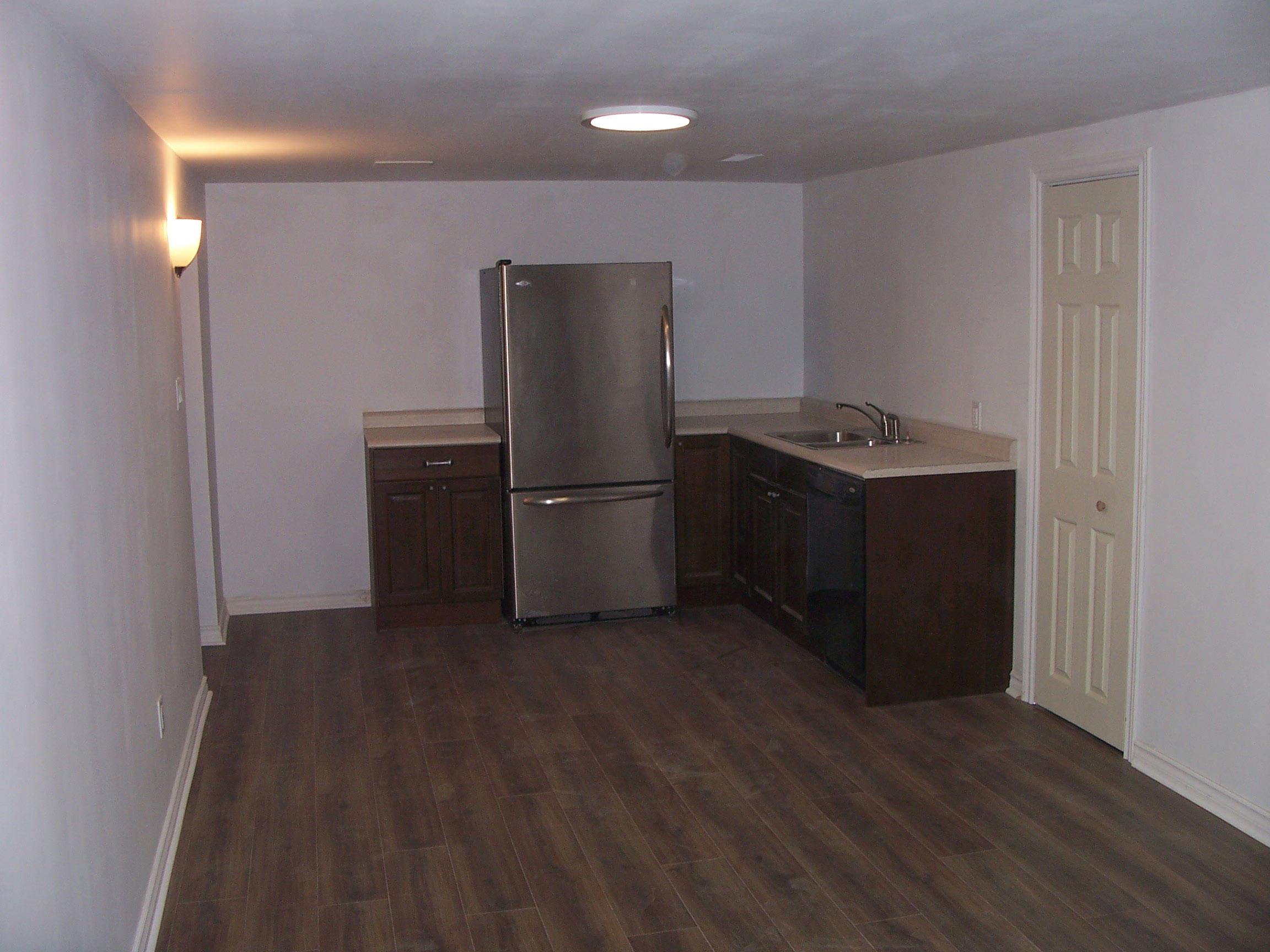 Basement Kitchen After